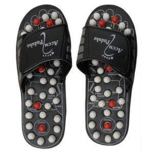 Leg Massagers - Vinayaka Accu Paduka Foot Massager Acupressure Massage Slippers Leg Foot Massager