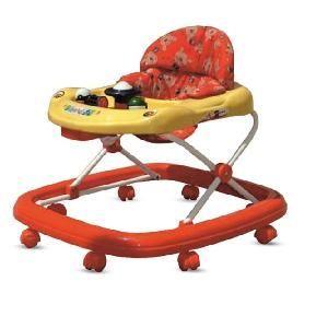 Prams, Strollers - Big Baby Walker (nne058) Exclusive Baby Gift Musical Height Adjustable