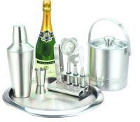 Bar Accessories - 5 PCs Bar Set Stainless Steel Modern Design