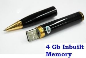 4 GB USB Spy Pen Camera 4GB Limited Edition Hidden Pocket Camera