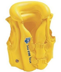 Swim Vest Pool School Step 2 Inflatable Water Games (yellow)