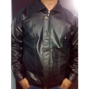 Eci - Premium Cimmaron Leather Bikers Jacket - Black