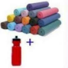 Super Fit Kit Yoga Mat + Sipper Bottle