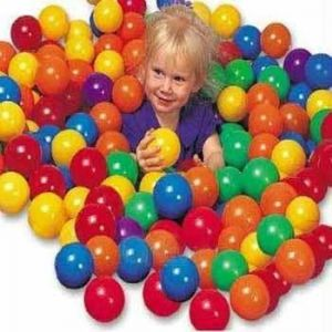 Fun Balls 100 Nos Pack For Safe Playing