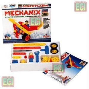 57pc Mechanix Planes 1 Engineering Toy Set Age3-6