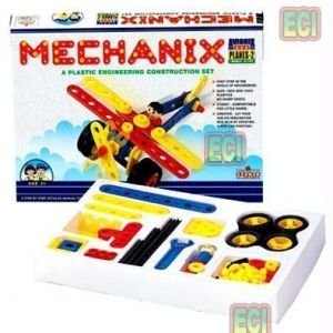 81pc Mechanix Planes 2 Engineering Toy Set Age3-6