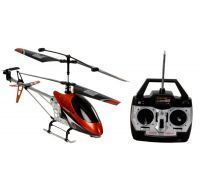 Remote Rc Helicopter For Kids - Large Red & Black