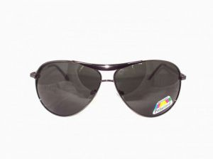 Sigma Drummer Gunmetal Polarized Aviator Sunglasses