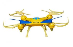 Emob Minion Drone 4 Channel Quadcopter Headless Mode 2.4ghz One Key Return Features 6 Axis Stabilization System Gyro