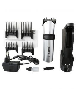 Kemei Km-609 Hair Trimmer Clipper For Unisex