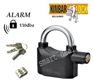 Sell Kinbar Siren Alarm Lock For Home/office/bikes Security Etc