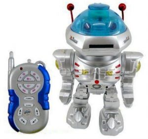 Radio Remote Controlled Rc Dancing Robot W/ R/c Missile Disc Launcher