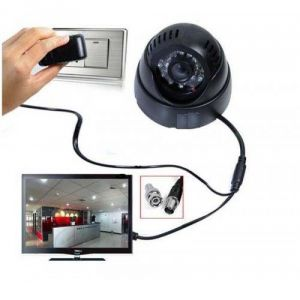 Rapter Dome Camera With Memory Card Slot
