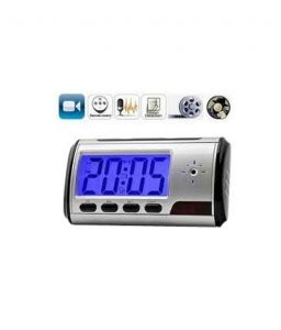 Security First Digital Table Clock Camera Spy Product