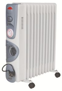 Vox Environment Friendly Oil Filled Heater With Timer & Blower 11 Fin