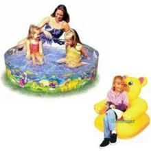 Swimming Pool 4 Feet Teddy/s Beanless Sofa Chair