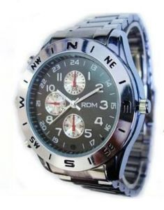 Spy Watch 16GB Hidden Wrist Watch Camera Dvr Audio Video Recorder
