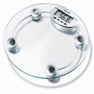 Electronic Weighing Scale Machine Digital LCD Premium Model Thick Glass