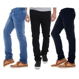 Indmart Set Of 3 Basic Jeans