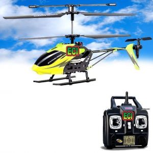 Eci 3-ch Real Flying Rc Helicopter Gyro Remote Radio Control Chopper Drone
