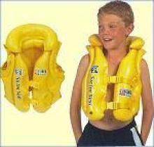 Inflatable Toys - Inflatable Swimming Vest Pool School Jacket