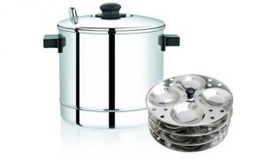 Kitchen Utilities, Appliances - Aluminium Idli Cooker With Stand