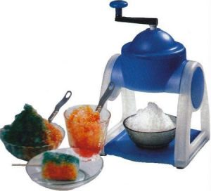 Gola Maker For Gola And Crush/ Slush Maker, Ice Maker, Operated Manually