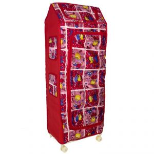 Novelty Star Almirah For Kids -red