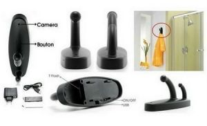 Clothes Hook Dvr Video Camera Recorder Spy Cam