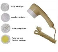 Face Massagers - Deep Heat Massager 5 Different Attachments