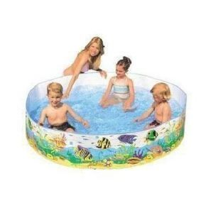 Intex Jumbo 6 Feet Kids Pool ( Requires No Air)