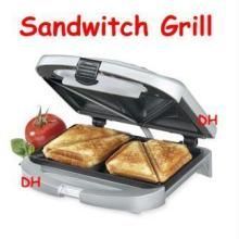 Toasters & grillers - Deluxe Electric Sandwich Toaster