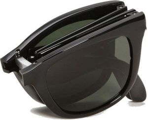 Multi Shaded Wayfarer Foldable Sunglasses Black Shade