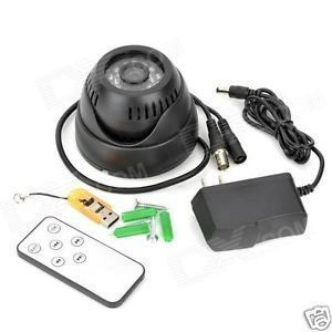 Dome Cctv Night Vision Digital Video Recorder W Tf Card Slot Tv-out W Remot