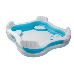 Intex Swim Center Family Lounge Pool Inflatable Pool 56475