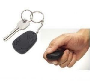 Nau Nidh Car Key Chain Spy Camera In Car Remote Control Shape