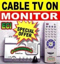 TV Tuner External Box For Lcd, Tft, CRT Monitors