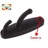 Spy Clothes Hook With Hidden Camera