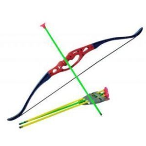 Action Figures - Garden Outdoor Archery Bow And Arrow Set / Game / Toy For Children