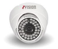 Zvision 1200 Tvl Hdis Dome 36 IR Night Vision Security Cctv Camera (white)