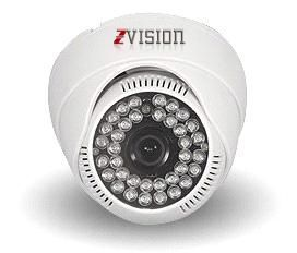 Zvision 900 Tvl Hdis Dome 36 IR Night Vision Security Cctv Camera (white)