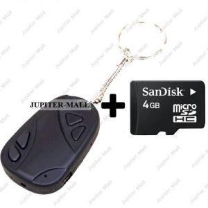 2 GB Hidden Spy Camera Camcorder Video Key Camera