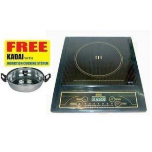 Heavy Duty Induction Cooker With Steel Kadai