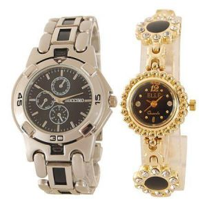 Women's Watches   Round Dial   Metal Belt   Analog - Buy 1 Get 1 Free Wrist Watch MFPR03