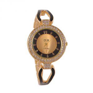 Women's Watches   Metal Belt   Analog - GOLDEN FANCY LADIES WATCH- DB Gold GD
