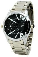 Dual Dial Formal Designer Watch For Men - Dual Time Men