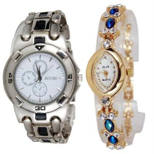 Women's Watches   Analog & Digital - New Stylish 2 Watches For Men & Women mfpw36201221