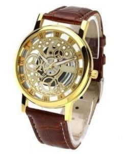 Classic Automatic Transparent Watch For Mens