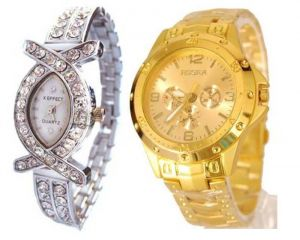 Buy 1 Get 1 Free- Stylish Wrist Watches 07