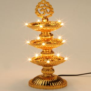 Decorative Lights-15 Lights Om Diya